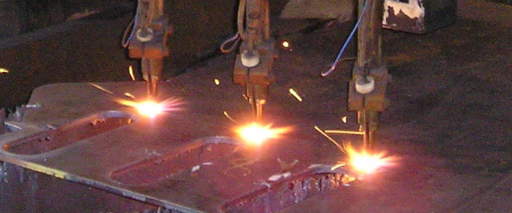 Sample Parts – Flame Cutting